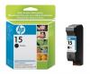 HP no. 15 - černá ink. kazeta velká, C6615DE