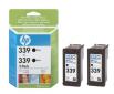 HP 339 - černá ink. kazeta, 2 pack, C9504EE