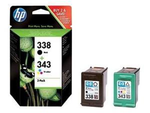 HP no. 338+343 - černá + barevná, SD449EE