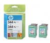 HP 344 - 3barevná ink. kazeta, 2 pack, C9505A
