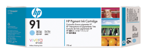 Obrázok produktu HP no 91 - sv. azurová ink. kazeta, C9470A