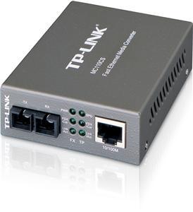TP-Link MC110CS FE 20km SM 1310nm SC Media Conv.