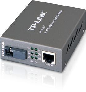 TP-Link MC111CS FE WDM SM 20km SC 1550nmTX/ 1310nmRX Media Conv.