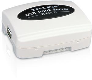 TP-Link TL-PS110U Single USB2.0 Port 10/ 100 RJ45 print server