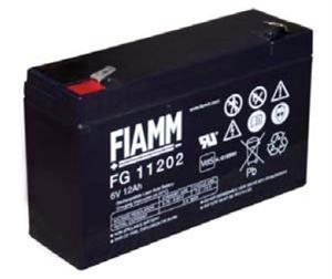 Fiamm olověná baterie FG11202 6V/ 12Ah