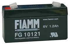 Fiamm olověná baterie FG10121 6V/ 1, 2Ah