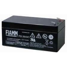 Fiamm olověná baterie FG20341 12V/ 3, 4Ah