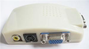 Převodník kompozit. signálu s-video/ cinch na VGA