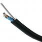 DATACOM FTP drát Cat5e 100m samonosný OUTDOOR blk