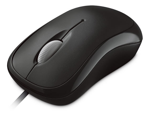 Microsoft Basic Optical Mouse Mac/ Win USB, černá