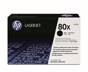 HP tisková kazeta černá velká 2 pack, CF280XD