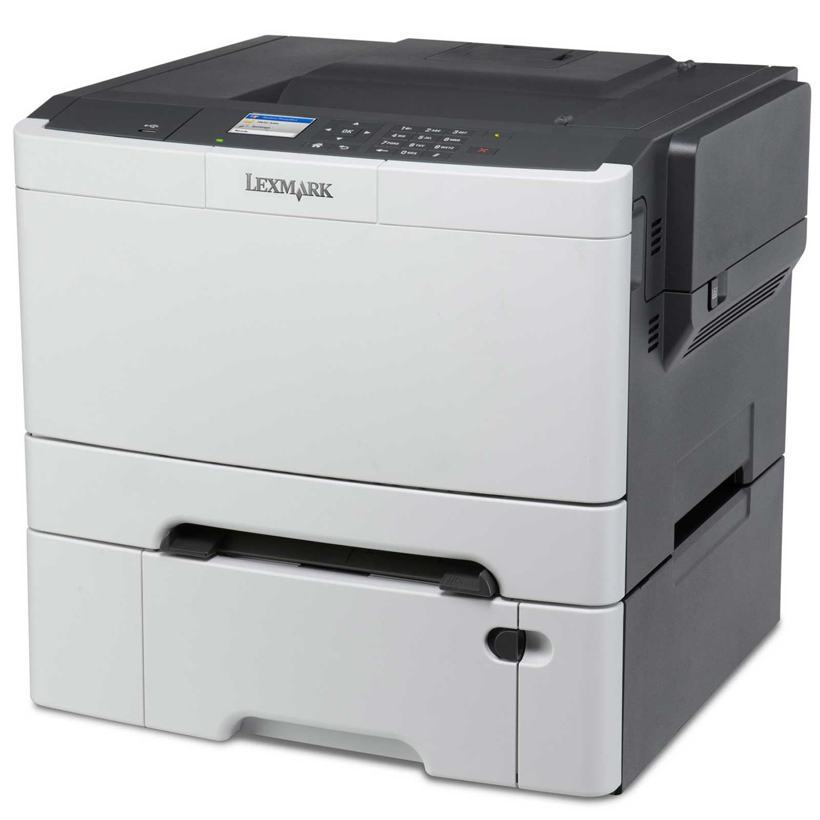Lexmark CS410dtn, A4, 1200x1200dpi, 30ppm, duplex, LAN