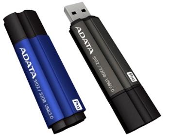 32GB USB 3.0 ADATA S102 Pro šedá (90/ 25MB/ s)