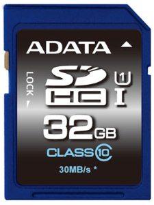 ADATA SDHC 32GB UHS-I Premier, Class 10