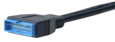 AKASA - USB 3.0 na USB 2.0 adaptér - 10 cm