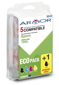 Armor multipack XP205, XP30 (T181X) 2xBK+C+M+Y