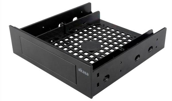 "AKASA 3.5""/ SSD/ HDD adaptér do 5, 25"" pozice"