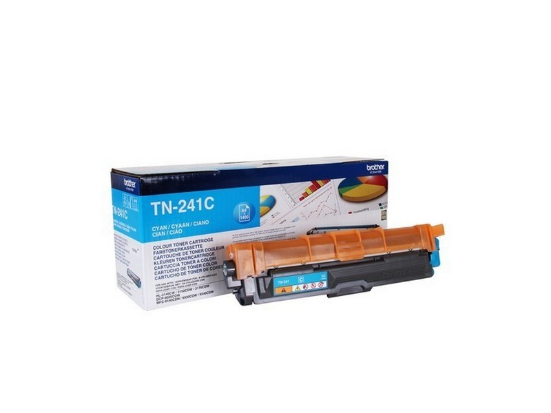Brother TN-241C, toner cyan, 1 400 str.