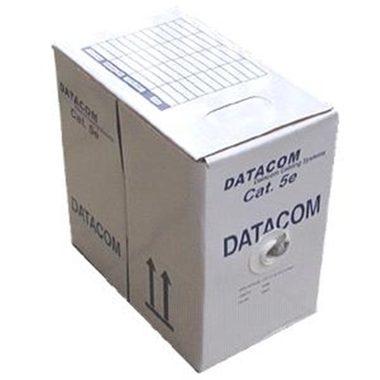 DATACOM FTP Cat5e PVC kabel 100m (drát), šedý