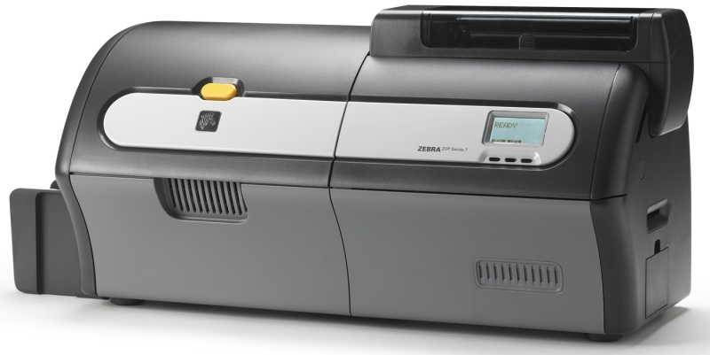 Card printer Zebra ZXP Series7–dual s., Eth.