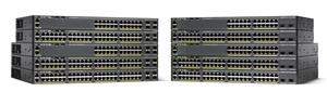 Cisco WS-C2960X-24PD-L, 24xGigE, PoE 370W, 2x10G SFP+