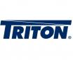Dveře celoskleněné pro 18U nástěnný Triton rack
