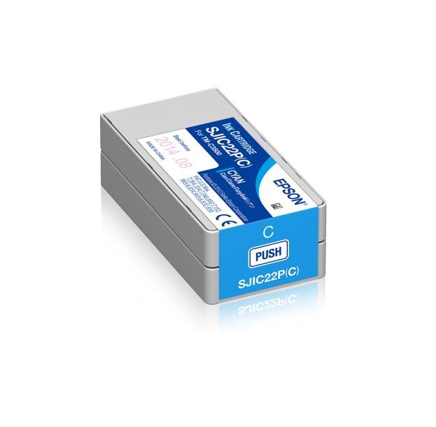 Ink cartridge for TM-C3500 (Cyan)