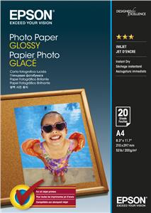 EPSON Photo Paper Glossy A4 20 listů