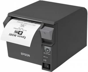 EPSON pokl.termo TM-T70II, tmavá, ether.+USB, zdroj
