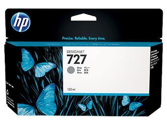 HP no 727 - šedá inkoustová kazeta velká, B3P24A