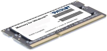 SO-DIMM 4GB DDR3L-1600MHz Patriot 1, 35V SR