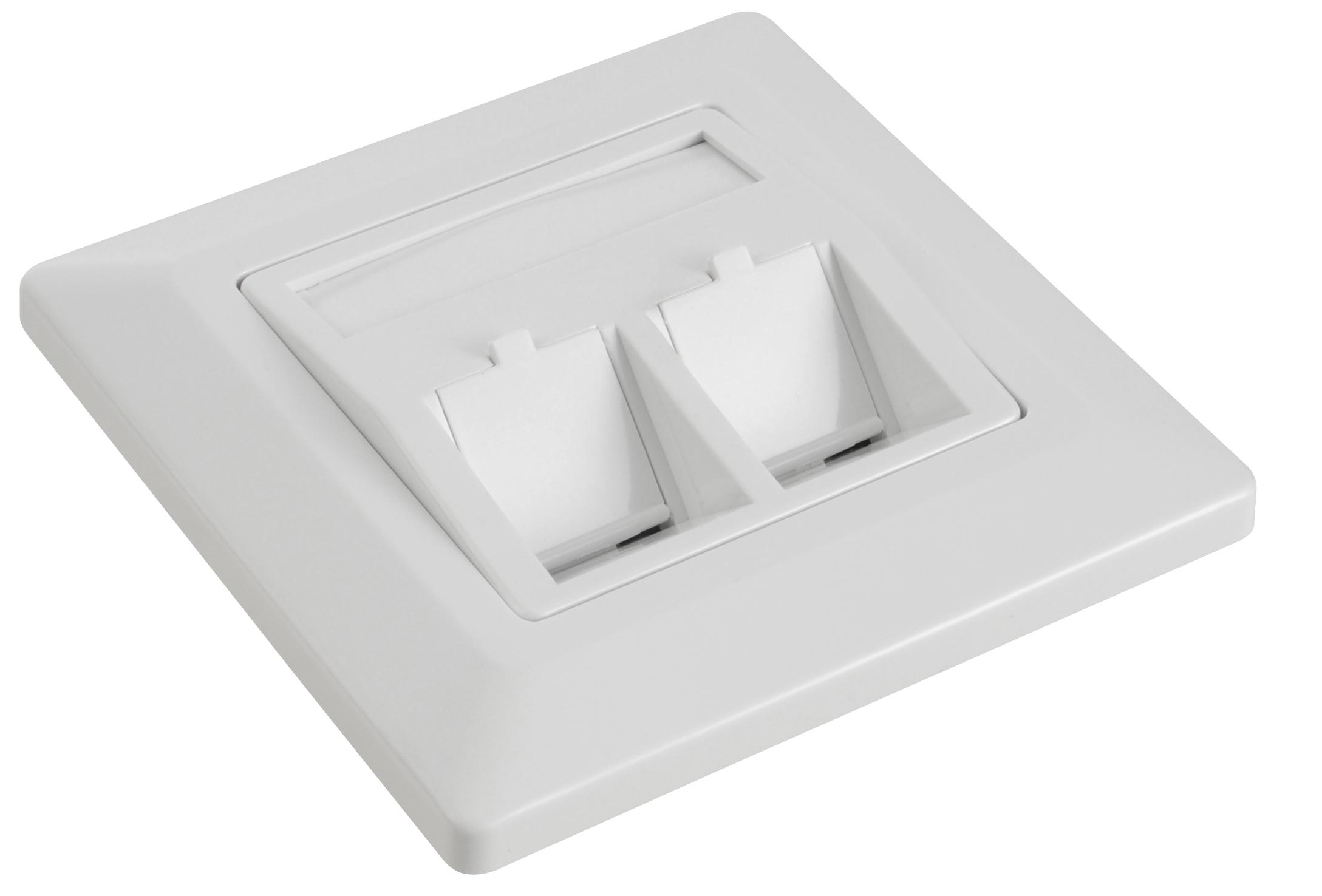 Zásuvka modulární Solarix pro 2 keystony