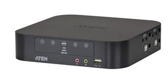 Aten 4-port mini DisplayPort Dual View KVMP USB