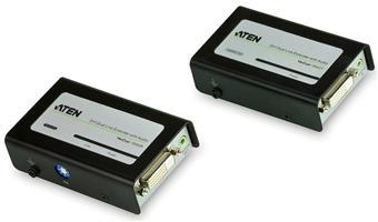ATEN DVI Dual Link A/ V Extender až 60m po Catx