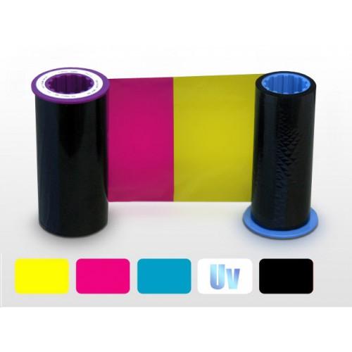 C1 Zebra i Series colour ribbon 5 Panel YMCUvK
