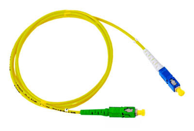 Optický patchkabel duplex SC/ APC-SC 9/ 125um SM 2m, OS2