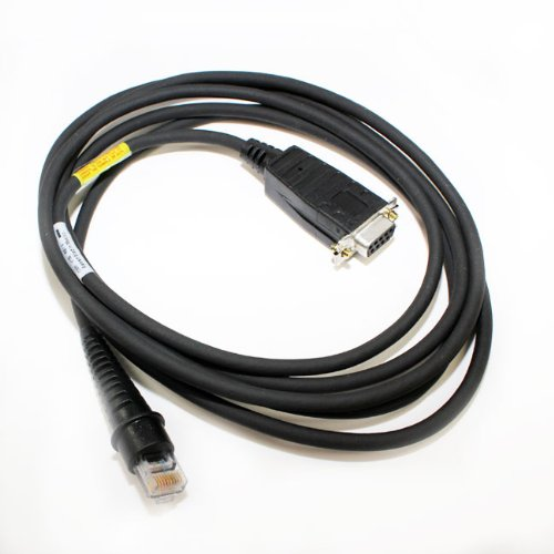 Honeywell RS232 cable TTL, con.D9pinF, power on pin 9