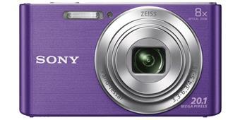 Sony Cyber-Shot DSC-W830 fialový, 20, 1M, 8xOZ, 720p