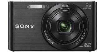 Sony Cyber-Shot DSC-W830 černý, 20, 1M, 8xOZ, 720p
