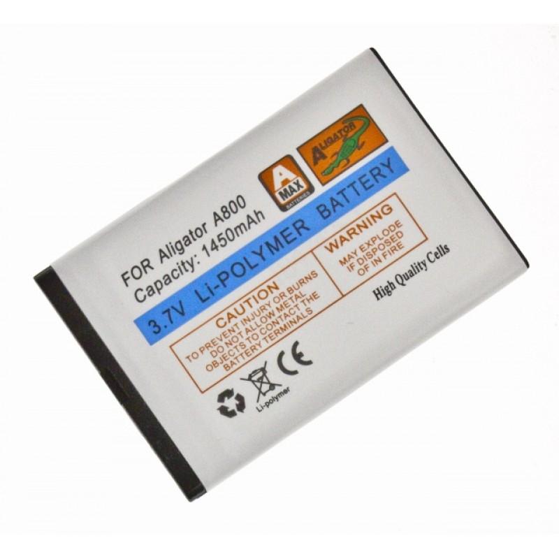 Aligator baterie A800/ A850, Li-Pol 1450 mAh