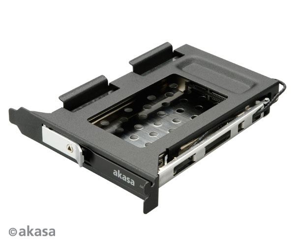 "AKASA Lokstor M23 - 2, 5"" HDD rack do PCI"