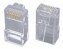 Konektor RJ45 CAT6 STP stíněný pro licnu, 100ks