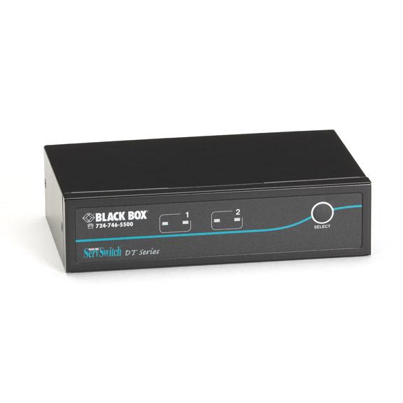 Serv Switch DT DVI 2-Port with USB 2.0