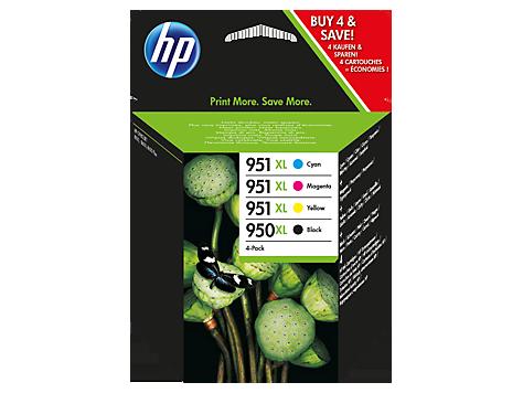 HP 950XL/ 951XL Combo Pack