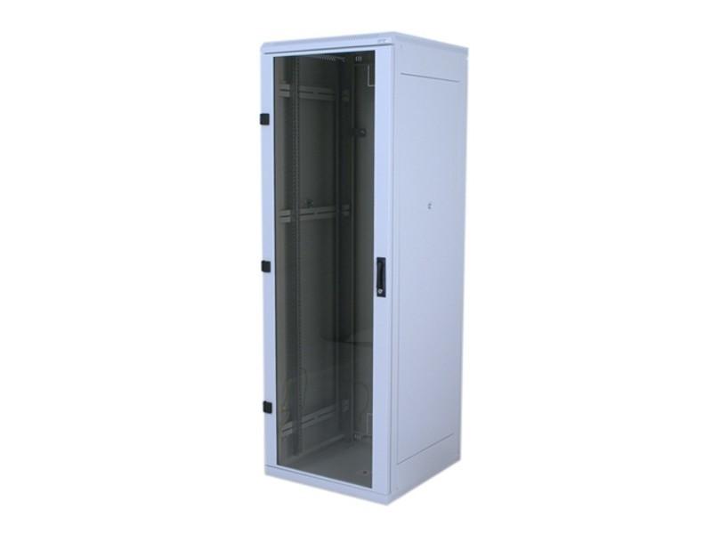 Stoj.rack 22U (š)600x(h)600 před.i zad.perf.dveře