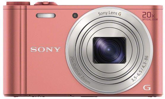 Sony DSC-WX350 růžová, 18, 2Mpix, 20xOZ, fullHD, WiFi