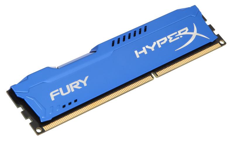 8GB DDR3-1866MHz Kingston HyperX Fury Blue