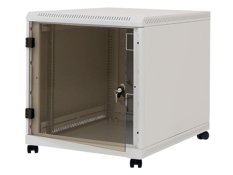 """19"""" kontejner.rack 12U, hl.900mm, nosn.200kg šedý"""