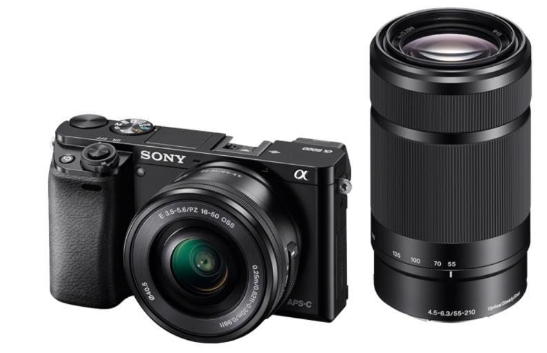 Sony A6000Y, 16-50+55-210mm, 24, 3Mpix, černý