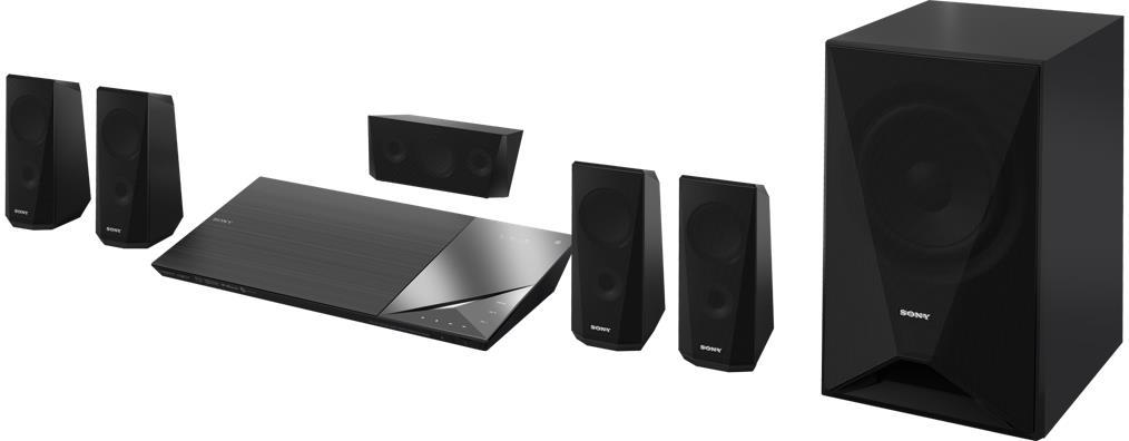 Obrázok produktu Sony Blu-Ray domácí kino BDV-N5200W, 1000W, 5.1k, 4K